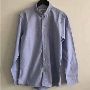 Other - Paddington Blue Oxford Chambray Button Down Shirt